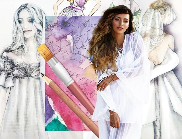 Свадебное платье для Регины Тодоренко
