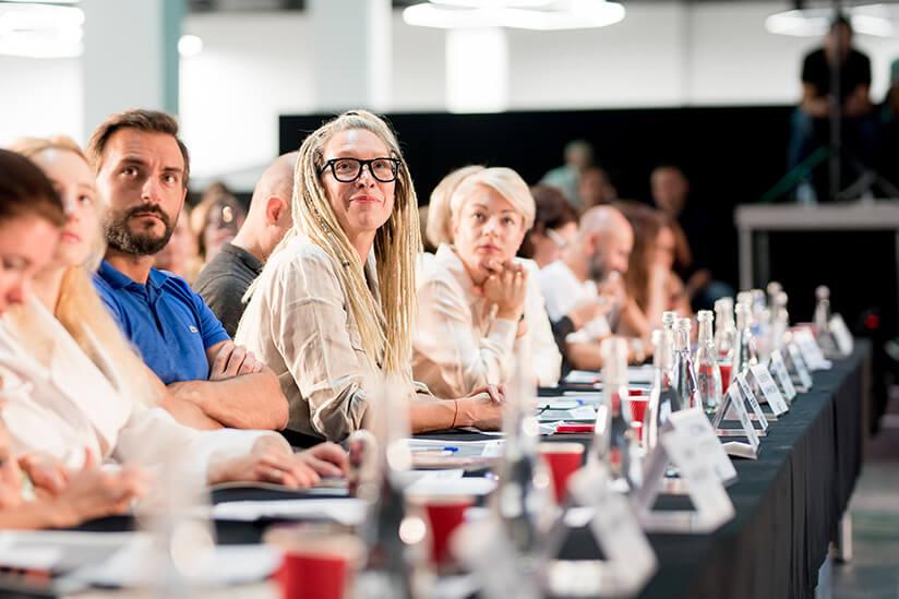Жюри.  Конкурс молодых дизайнеров одежды New Fashion Zone